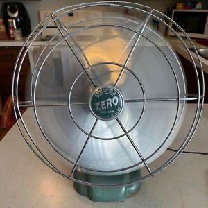 WORKS: Zero Fan: Model 1260R: Bersted Co vintage