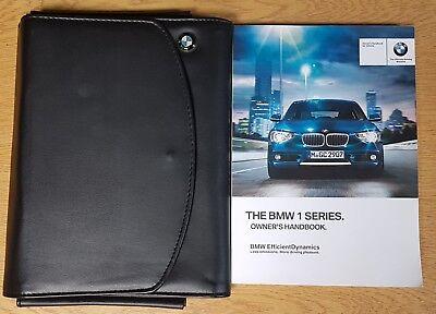 GENUINE BMW 2 SERIES COUPE F22 HANDBOOK OWNERS MANUAL 2015-2018 WALLET #M-583
