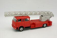 Norev Plastique 1/43 - Berliet GBK 18 Echelle Magirus Pompiers Roues bouton