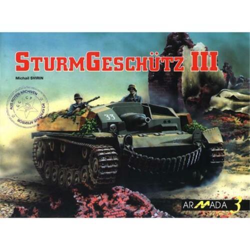 3 Modellbau Archiv Abbildungen Fotos Svirin STURMGESCHÜTZ III Armada Nr