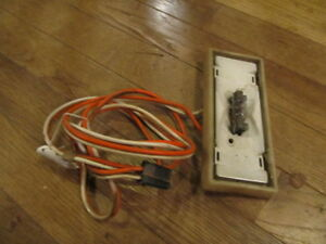 1967 gto lemans dome light wiring harness and housing 1 ebay. Black Bedroom Furniture Sets. Home Design Ideas