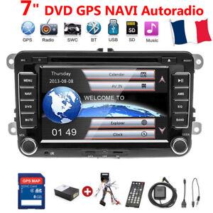 """7"""" DVD AUTORADIO 2DIN GPS NAVI BLUETOOTH Für VW GOLF 5 PASSAT TOURAN TIGUAN POLO"""