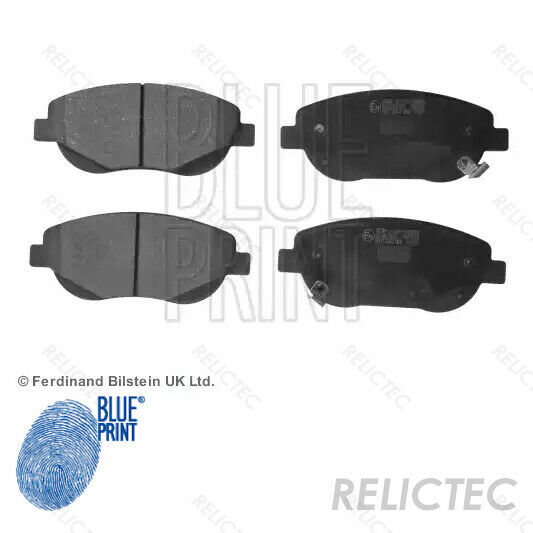 BLUEPRINT FRONT REAR DISCS AND PADS FOR TOYOTA COROLLA 2.0 TD CDE120 2002-07