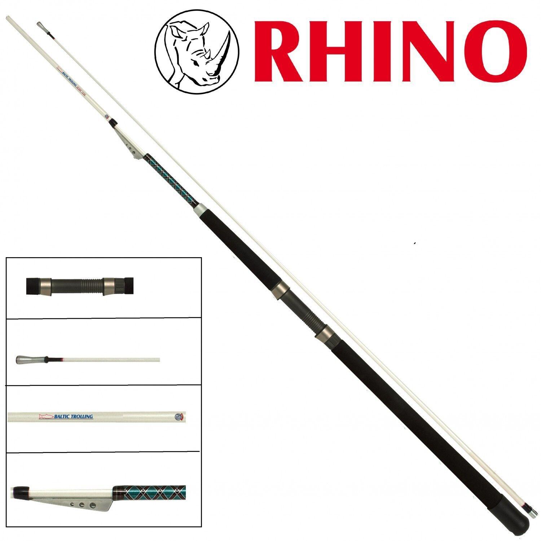 Rhino Baltic Trolling Inline 2 40m 15-25lb Trollingrute Schlepprute für Lachse