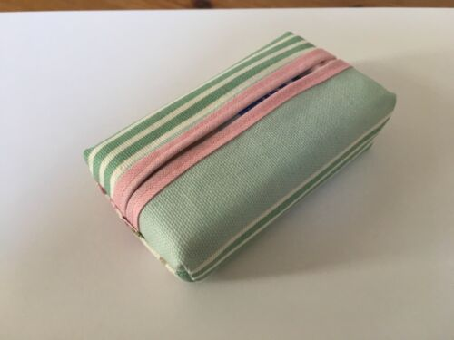 Various Fabric Designs Handcrafted Pocket Tissue Handkerchief Holder Case