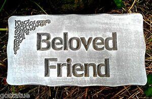 Beloved-friend-abs-plastic-mold-concrete-memorial-plaster-mould