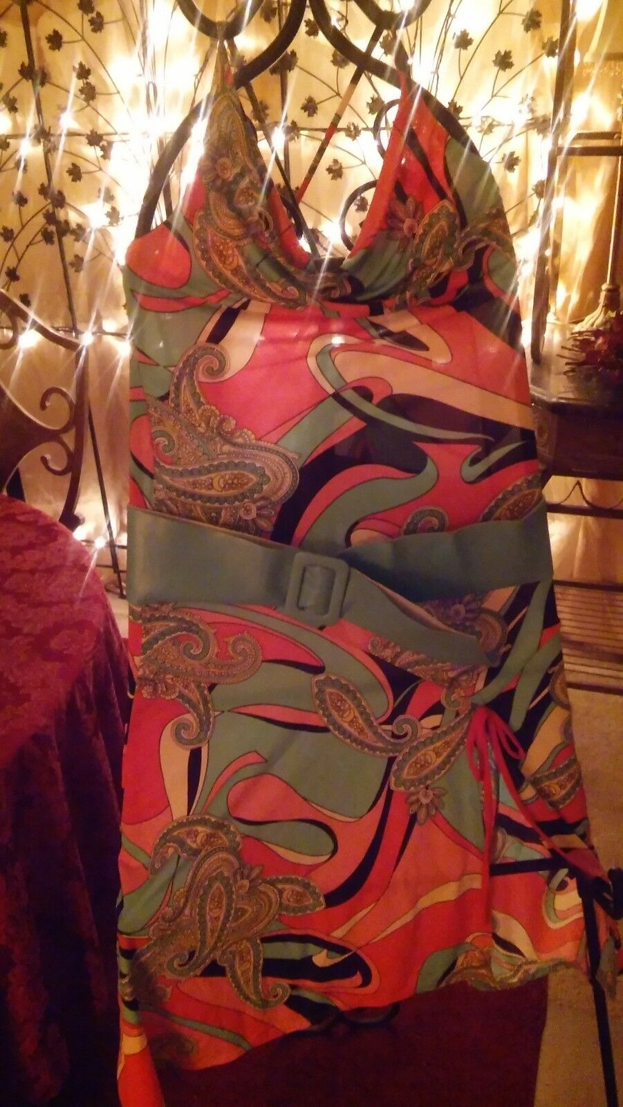 COOGI Collection 2-GorgeousPaisley and Pastel dresses  LessThanRetailStores