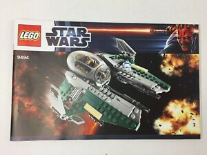 Lego-Star-Wars-9494-Anakin-039-s-Jedi-Interceptor-Manuel-d-039-instructions-uniquement