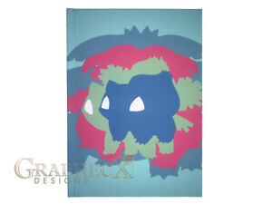 Pokemon Bulbasaur inspired hardcover cosplay book notebook