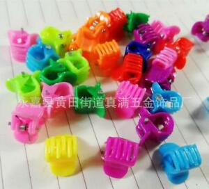 20PCS-Mix-Lot-Colorful-Assorted-Mini-Small-Plastic-Hair-Clips-Claws-Clamps-New