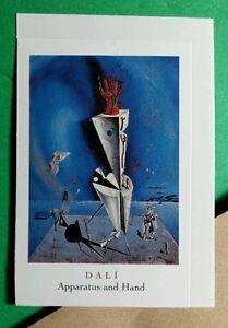 SALVADOR DALI FINE ART ~ APPARATUS AND HAND ~ CASE SMALL REPRINT DOVER STICKER