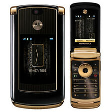 Gold MOTORAZR2 V8 Luxury Edition 2G 2MP Gold Cell Phone