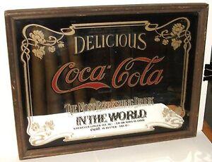 Vintage coca cola mirror — photo 14