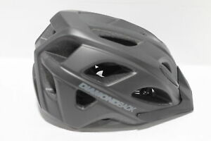 Diamondback-Trace-Adult-Bike-Helmet-Matte-Black-Size-Medium-55-59cm
