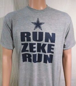 Wholesale NFL Nike Jerseys - Dallas Cowboys Football T Shirt Run Zeke Ezekiel Elliott Jersey ...