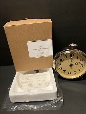 Pottery Barn Charleston Vintage Alarm Clock Shelf Mantel