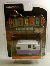 SHASTA 15' AIRFLYTE TRAILER HITCHED HOMES SERIES 1 GREENLIGHT 1:64 DIECAST 2017