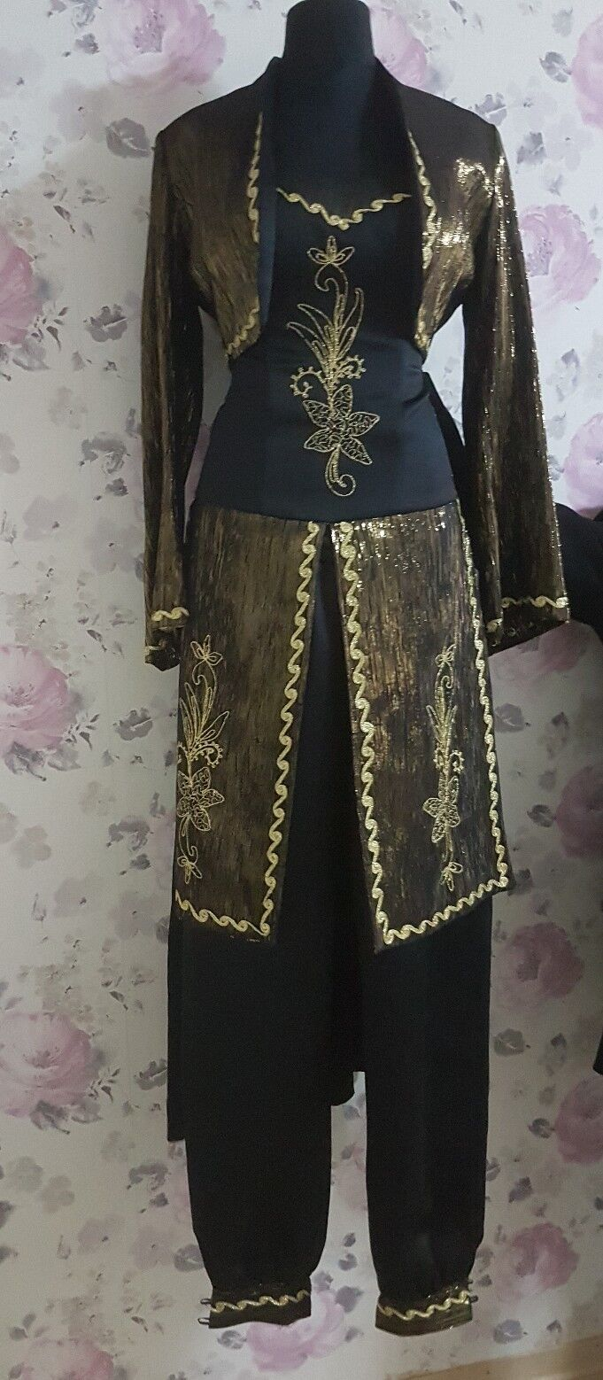 Henna Kleid Abendkleid Abiye Kina Elbisesi Bindalli Abaya Kaftan Anarkali 36 38