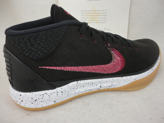 fc76b0a6a4b9 Nike Kobe AD Mid Baseline Mens Basketball Shoes 13 Black Sail Gum 922482  006 for sale online