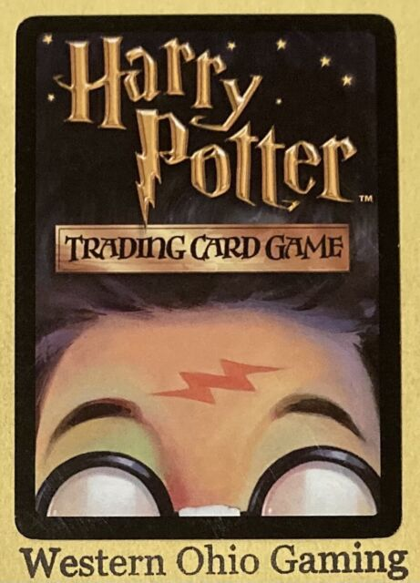 Harry Potter TCG Chamber of Secrets Justin Finch-Fletchley HOLO FOIL 32//140