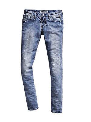Timezone Damen Jeans NiniTZ 16 5488 Slim Fit cool bleach wash | eBay