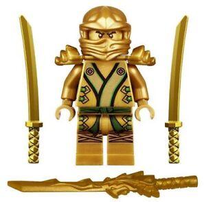 Ninjago-Ninja-Mini-Figure-Toy-Lloyd-Gold-Ninja-Fit-lego