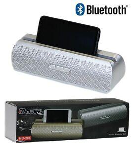 Altavoz portátil con bluetooth inalambrico altavoces soporte usb sd Radio fm aux