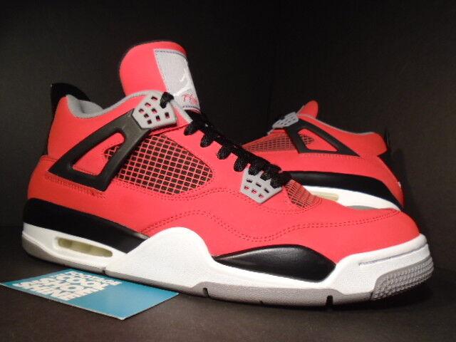 Nike Air Jordan IV 4 Retro TORO FIRE RED WHITE BLACK CEMENT GREY 308497-603 12
