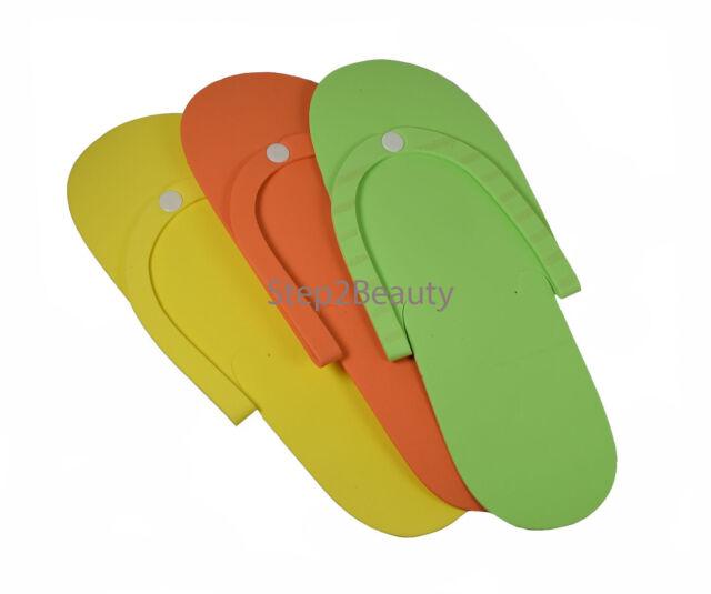 ef599402d36 Cre8tion 12 Pairs Disposable Foam Pedicure Slippers Flip Flop Salon Nail Spa