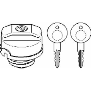 Dispositivo de cierre depósito de carburante lleno-Topran 102 746