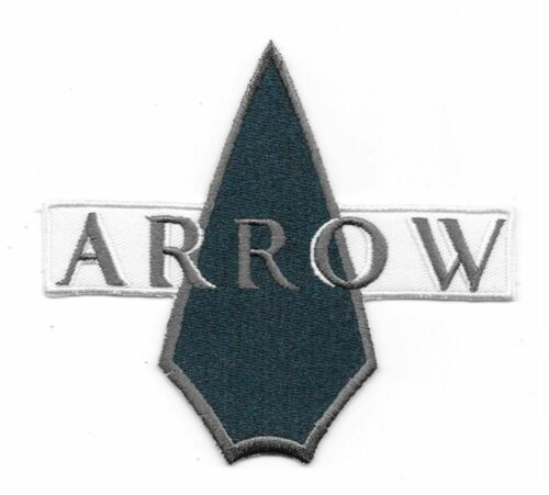 """DC Comics Arrow TV Series Name Logo Icon Embroidered 4 1//2/"""" Patch"""