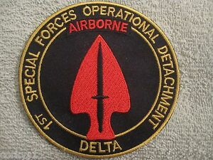 Details about 1st Special Forces Operational Detachment