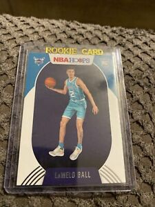 2020-21 NBA HOOPS LAMELO BALL BASE ROOKIE RC #223 CHARLOTTE HORNETS  HOT