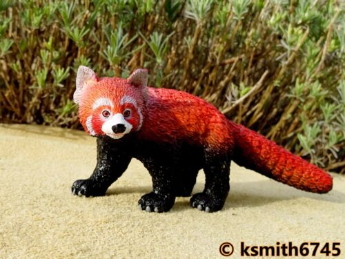 nouveau AAA Red Panda solide Jouet en plastique figure WILD ZOO chinois ANIMAUX OURS-CHAT