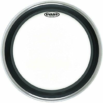 """Bd18emadcw Coated Emad White Bassdrumfell 18"""""""