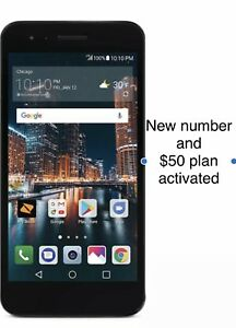 Details about Boost Mobile -LG Tribute Dynasty +new Number + $50 Plan  Unlimited 4G LTE 16GB