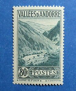 Europe Stamps Constructive 1941 Andorra French 80c Scott# 46a Michel # 77 Unused Nh Cs26846 Commodities Are Available Without Restriction