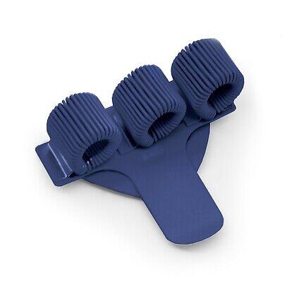 Ideal für Ärzte// 3 X Dreifach Metall Stifthalter mit Tasche Clip