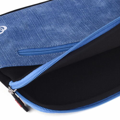 Neoprene Sleeve w// Front Accessory Pocket fits ASUS Chromebook C201 11.6/'