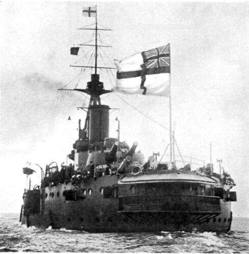 World War 1 Royal Navy Jutland Photo 1918 Reprint 5x5 inch
