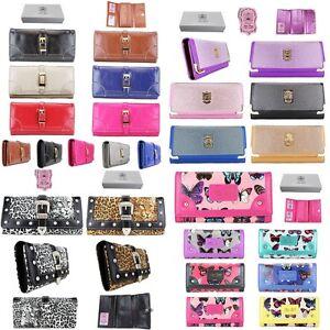 Designer-Vintage-Diamante-Studs-Leopard-Butterfly-Purse-Wallet-Bag-Gift-Boxed