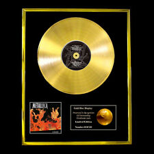 METALLICA LOAD CD GOLD DISC RECORD LP DISPLAY FREE P&P!