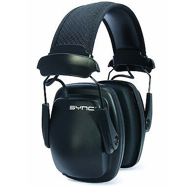 NEW! Howard Leight 1030110 Sync Noise-Blocking Stereo Earmuff with Audio Cable