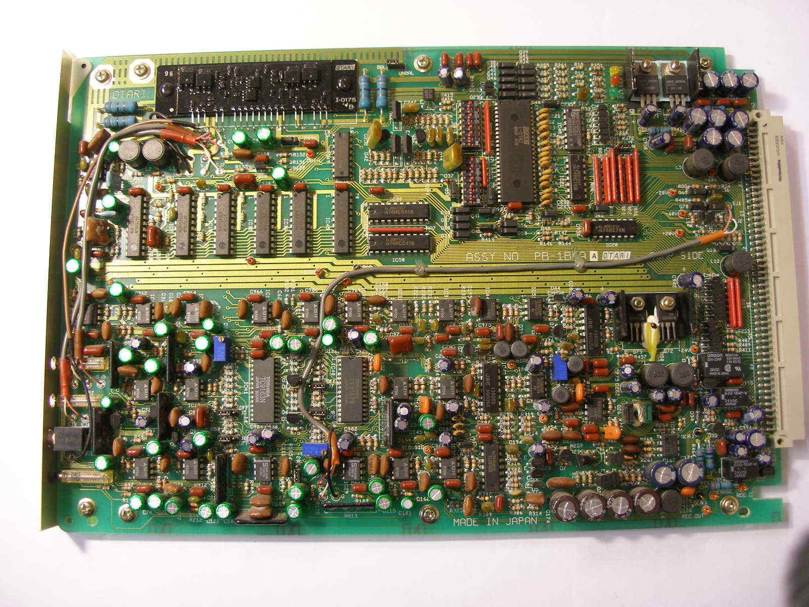Otari MTR-100A channel audio card type PB-1BKA