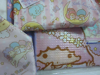 NEW Sanrio Little Twin Stars Aluminium Lunch Bottle Bag Picnic Sheet 3pcs Set FS