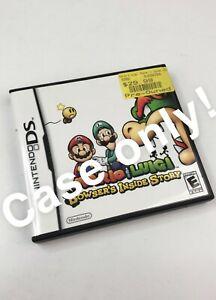 Case-Manual-Only-Mario-amp-Luigi-Bowser-s-Inside-Story-Nintendo-DS-2009-No-Game