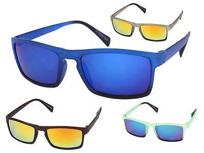 Wayfarer-Sonnenbrille Nerd-Sonnenbrille Nerd-Brille Verspiegelt Retro Unisex