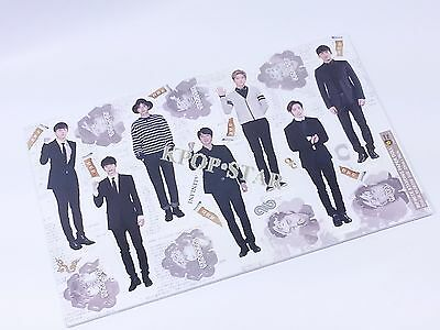Infinite Standing Paper Doll Korean Pop Star KPOP K POP K-POP Paper Doll