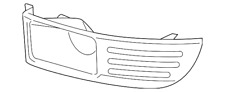Genuine Ford Lamp Bezel DA8Z-17E810-AA