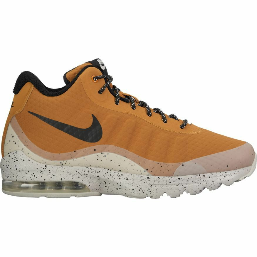 NIKE AIR MAX INVIGOR MID 858654-700 WHEAT BLACK-LIGHT BONE